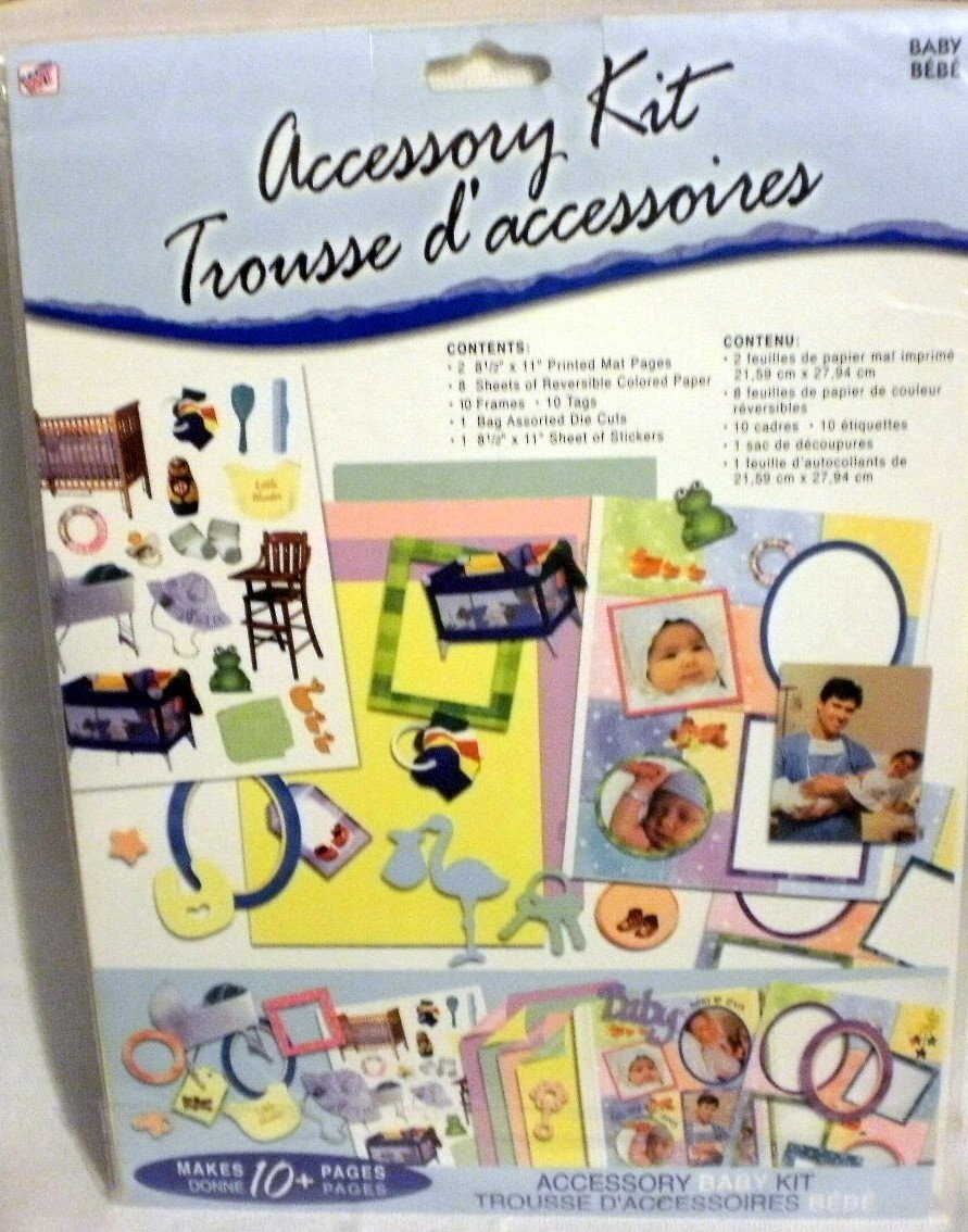 Scrapbook Accessory Kit ~ BABY Westrim Crafts 25903-PE-000