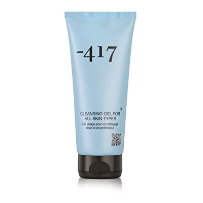 -417 Dead Sea Cosmetics Face Wash Energizing Cleansing Gel - Purifies, Deeply Cleanses & Removes Makeup