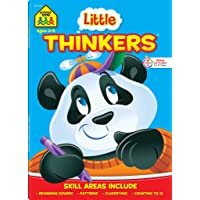School Zone - Little Thinkers Preschool Workbook - 64 Pages, Ages 3 to 5, Compare and Contrast, Critical Thinking…