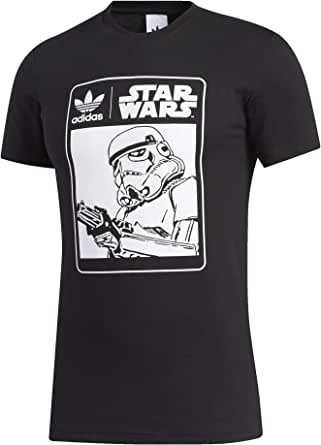 adidas Star Wars Stormtrooper - Camiseta con logotipo de caja