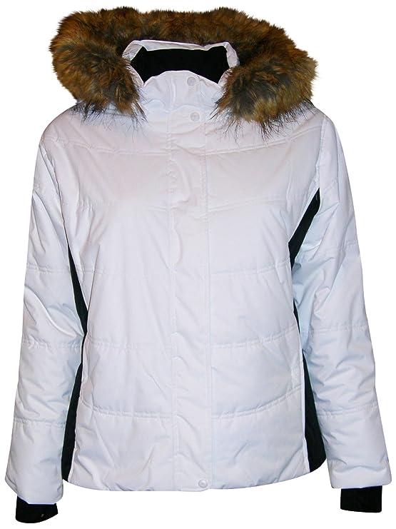 3969d618fd Pulse Women s Plus Extended Size Ski Coat Jacket Aspens Calling at Amazon  Women s Clothing store