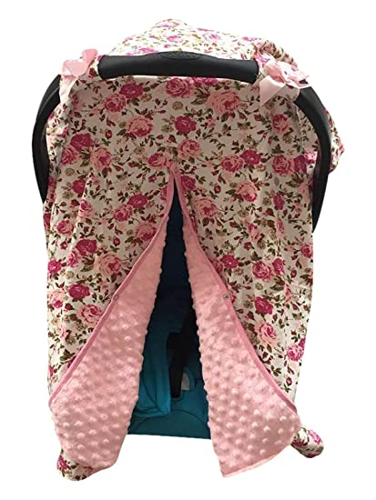 Unicorn Print Baby Car Seat Cover Nursing Carseat Canopy Pink 300035 Aki Dress