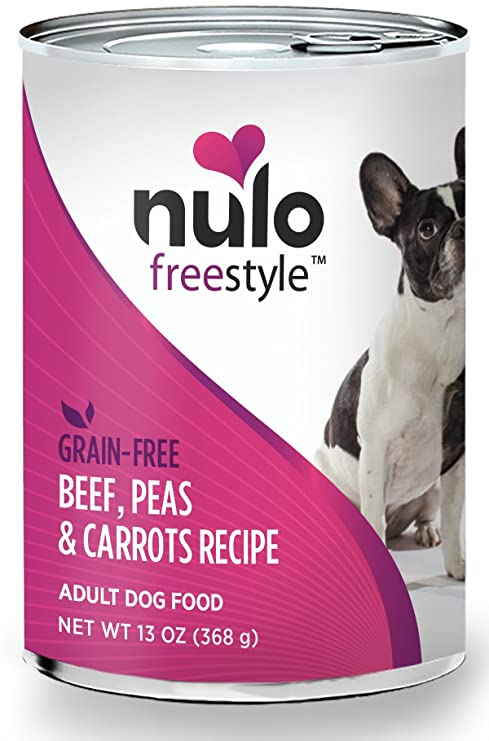 Amazoncom Nulo Adult Grain Free Canned Wet Dog Food Beef Recipe