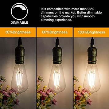 id:f95 91 03 fa5 New Lon0167 G80 AC220-240V Featured 40W 2200K 260 reliable efficacy Lumens Edison Bulb Vintage Light E27 Base