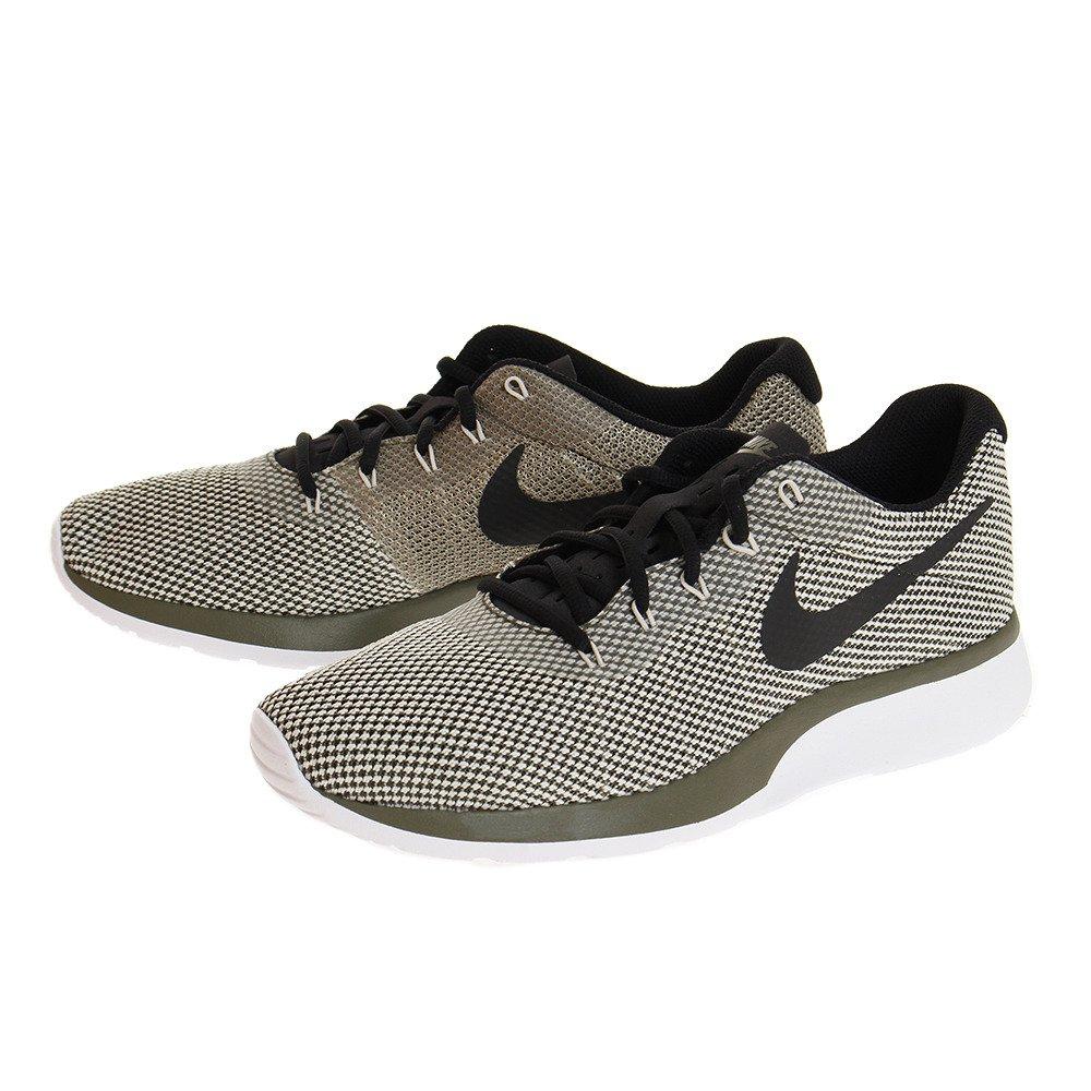 Nike Herren Tanjun Khaki Textil/Synthetik Sneaker  105|Khaki (Cargo Khaki/Black/Light Bone/Neutral Olive)