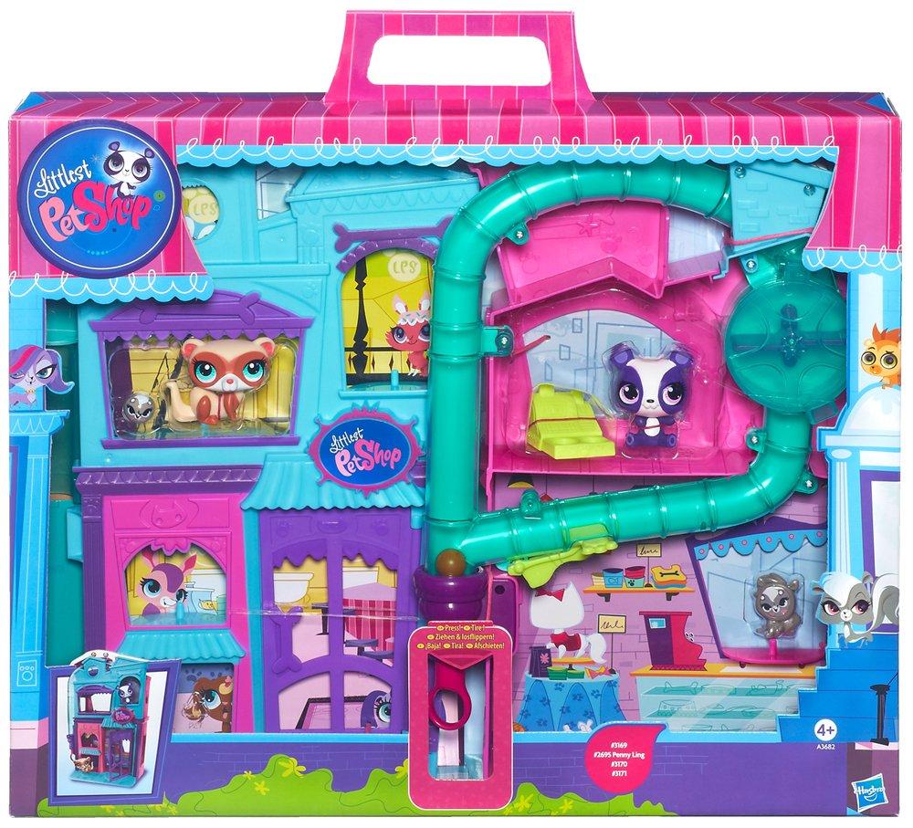 Uncategorized Littest Pet Shop Videos hasbro littlest pet shop playset amazon co uk toys games