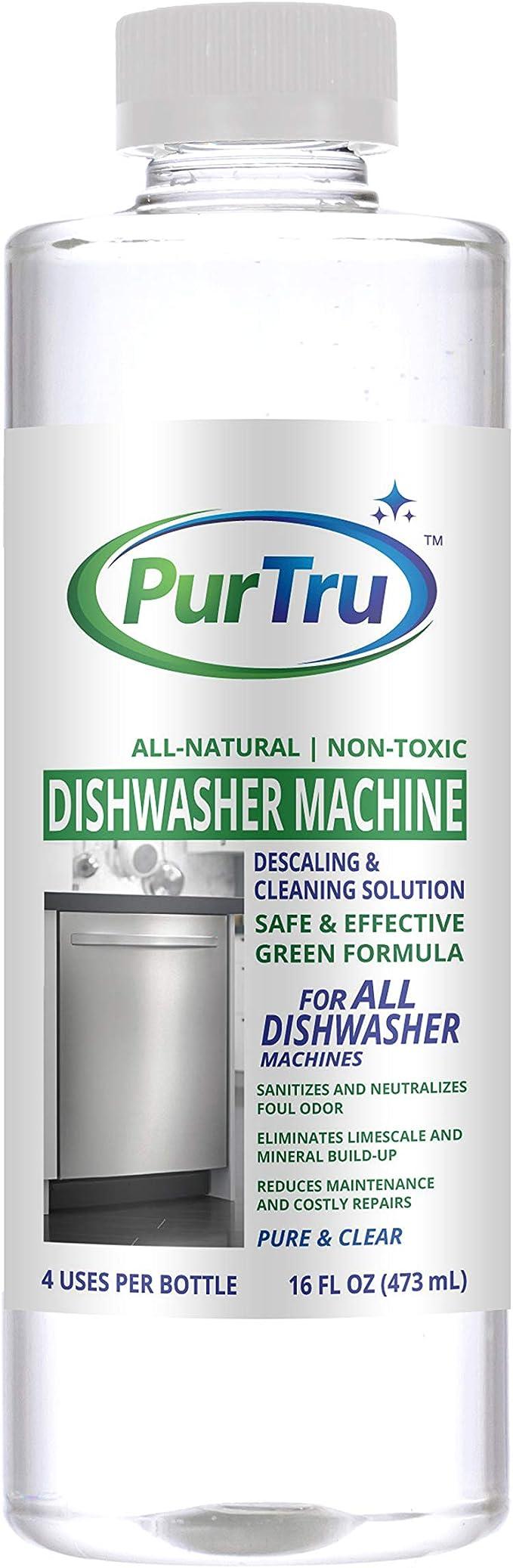 Limpiador de lavavajillas – All Natural y seguro cal y solución de ...