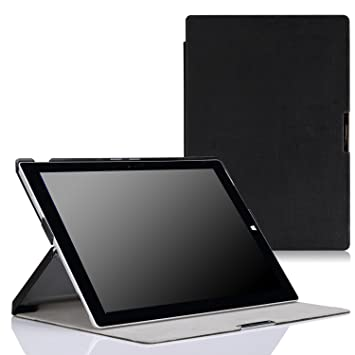 MoKo Microsoft New Surface Pro 2017 Pro 3 12-Inch Sleeve Bag Pro 4 PU Case