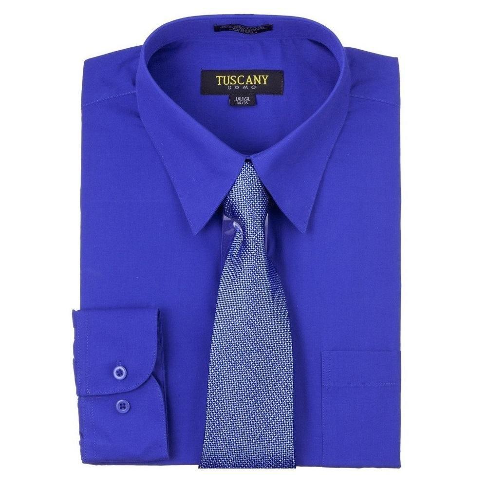 Tuscany - Camisa de vestir de manga larga para hombre, ajuste ...