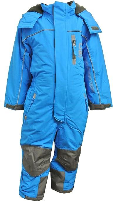 Schneeoverall Jungen 10 Mm WassersäuleBlau 3711900 Overall Outburst 000 3JlKF1Tc