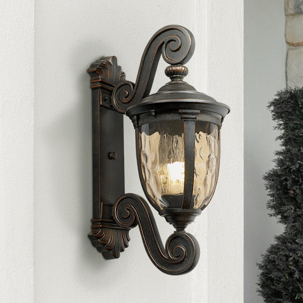 Bellagio 24  High Energy Efficient Outdoor Wall Light - Wall Porch Lights - Amazon.com & Bellagio 24