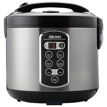 aroma housewares arc 2000asb professional 10 cup un cooked  20 amazon com  aroma housewares arc 2000asb professional 10 cup un      rh   amazon com