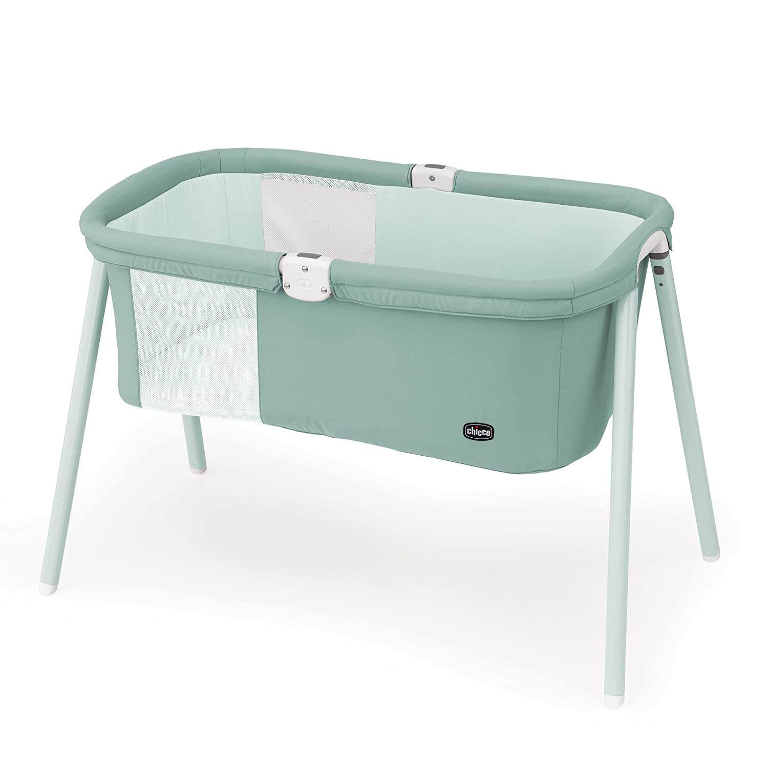 Chicco LullaGo Portable Bassinet, Grey Mist 7904472
