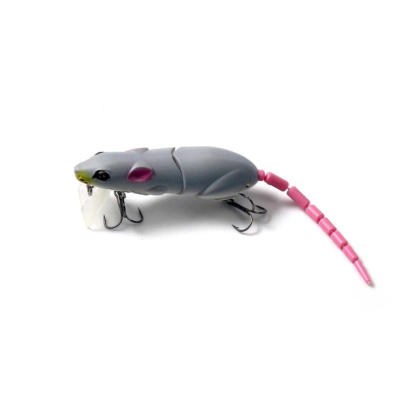 Huiit Appâts leurres de pêche appâts Souris Rat appâts bioniques queues Multi-jointures de pêche à la Queue attractifs
