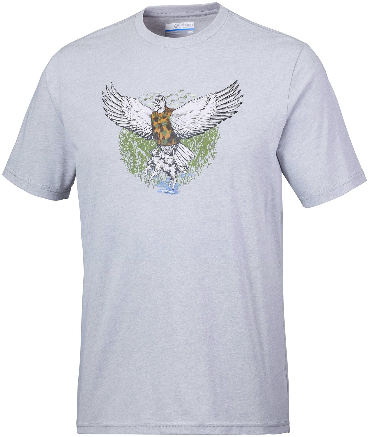 Columbia The Duck Strikes Back™ Grey Heather Xl