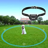 COVONO Wireless Electric Dog Fence with GPS,Dog Containment System(Waterproof and Rechargeable Collar,Shock/Tone Correction,for 1 Pet)