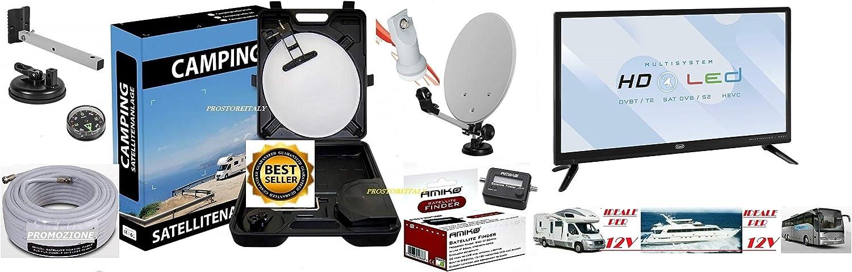 Kit de satélite para caravanas y autocaravana: parasol con ...