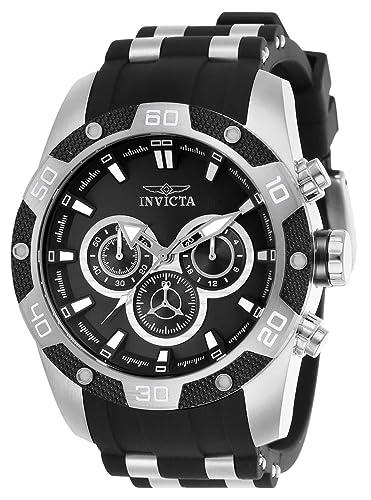 Amazon.com: Invicta Mens 25832 Speedway Quartz Chronograph Black Dial Watch: Watches