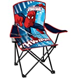 Youth Folding Chair with Armrest and Cup Holder