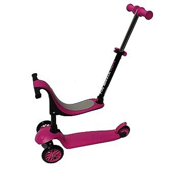 Kawin Patinete de 3 Ruedas con diseño Scooter para niños de 3-5 años de Edad Twist & Roll Triciclo