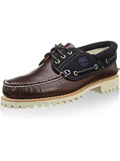 80a928ef104 Timberland Authentics Fourrure d agneau de 3 Eye Boat Shoes ...