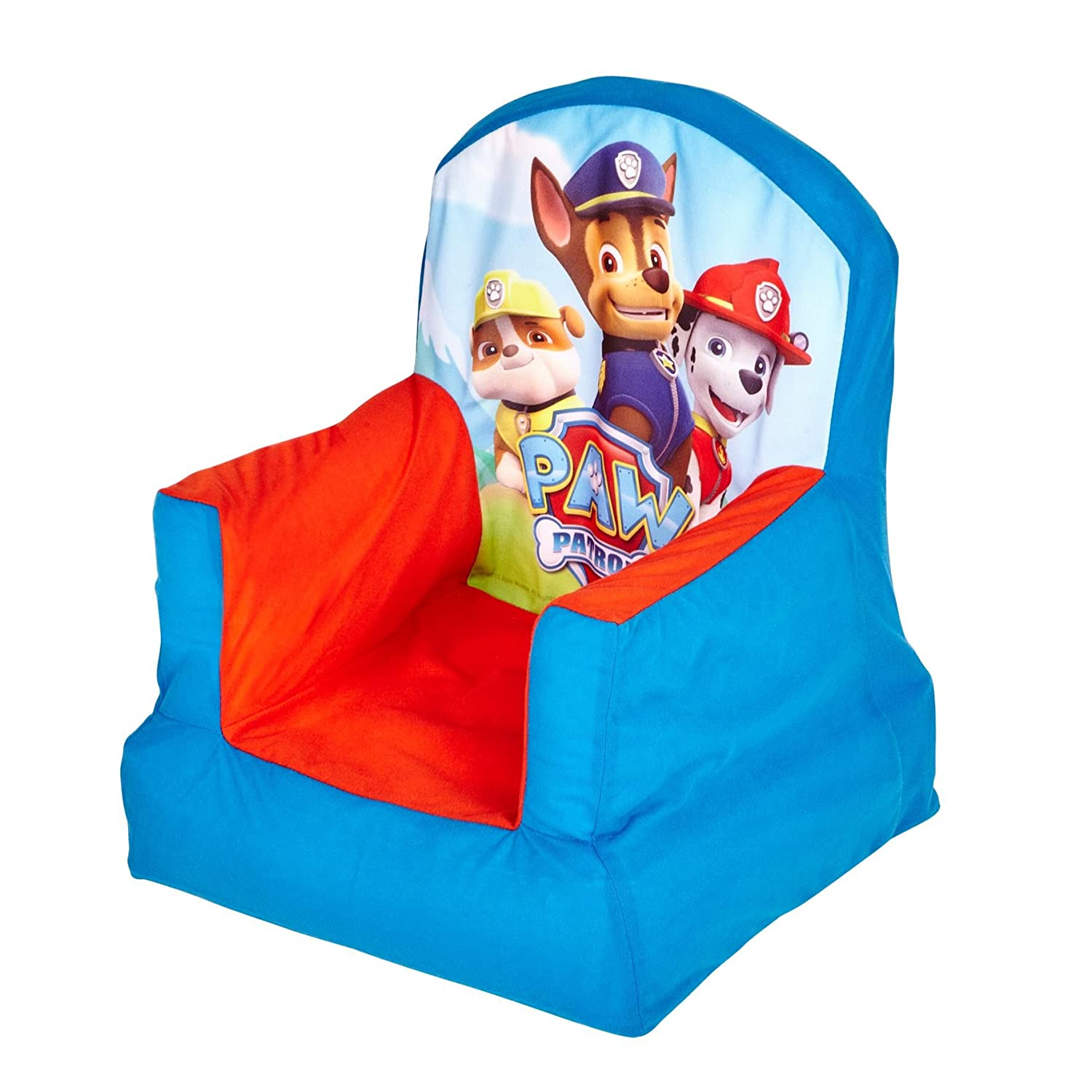 paw patrol inflatable chair for kids amazon co uk kitchen home