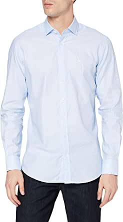 Hackett London Weave Texture Camisa para Hombre