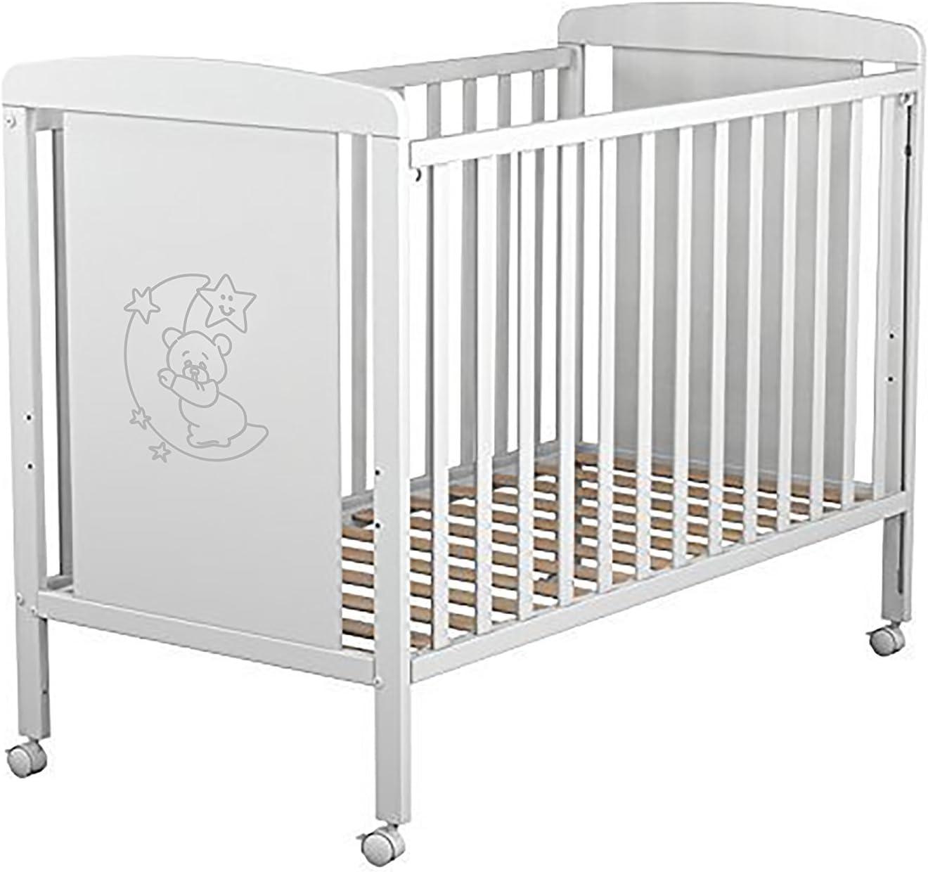 Cuna para bebé + Colchón Viscoelástica + Protector de colchón impermeable