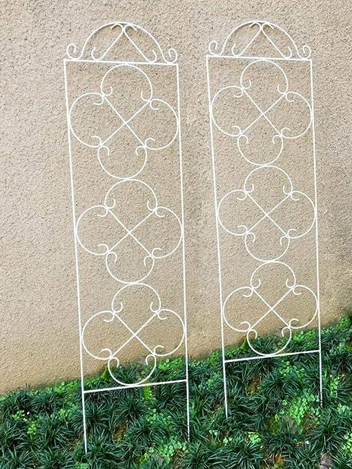 ecotrellis metálico de flores enrejado jardín enrejado planta apoyo 47.2