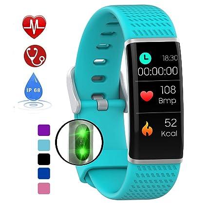 DUWIN smartwatch con Pulsómetro,Impermeable IP68 Reloj ...