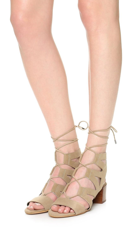 ea08cb965a17 Amazon.com  Rebecca Minkoff Women s ISSA Gladiator Sandals