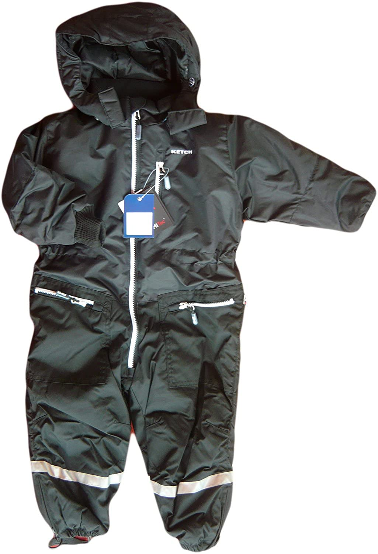 Ketch. Funktioneler Overall Alpine. Ski-Anzug. Cordura HemiProof 130202-8, schwarz