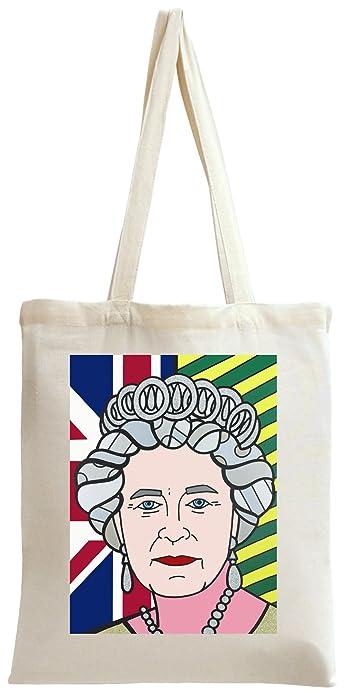 Pop Art Queen Elizabeth Tote Bag Amazon De Schuhe Handtaschen