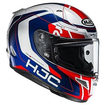 Hjc Rpha 11 >> Hjc Rpha 11 Full Face Motorcycle Crash Helmet Lid Chakri Mc21 Red
