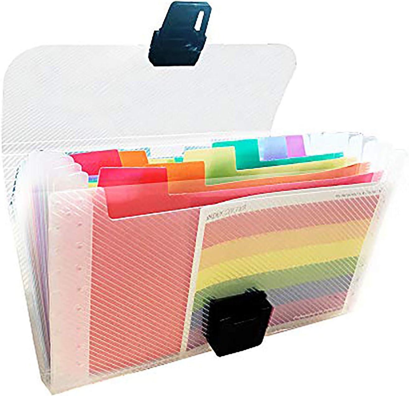 13 poches Classeur extensible portable accord/éon extensible A5 format A4 A4