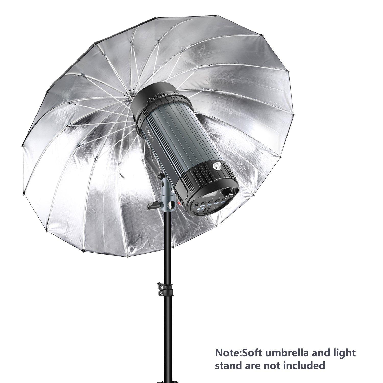 Location Small Objects Neewer 180W 5600K Photo Studio Flash Speedlite Strobe Light Bowens Mount Monolight with 0.4-inch Upgraded Flash Tube for Studio Portrait Photography EG-180B