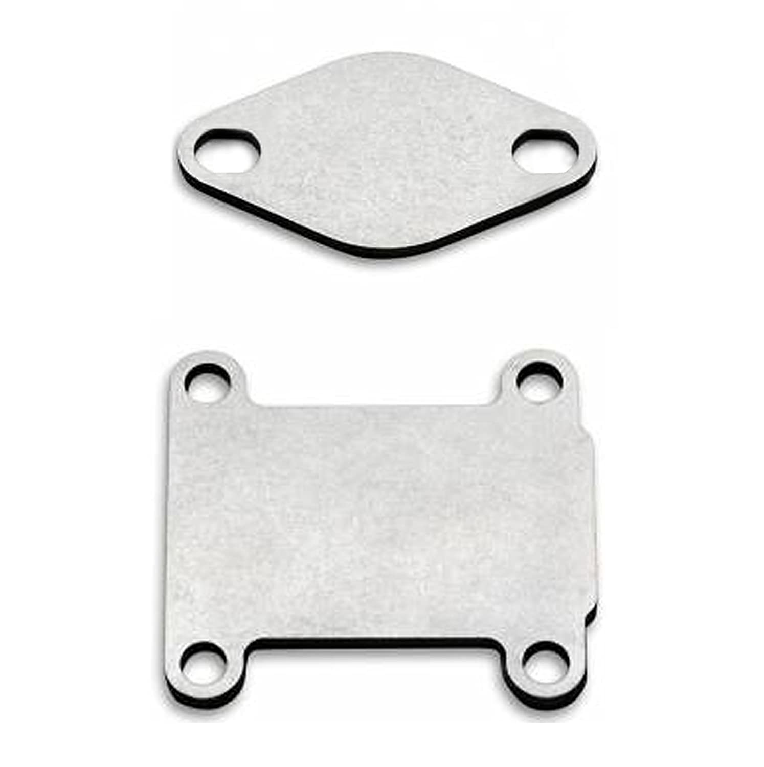 NEW EGR DELETE REMOVAL BLANKING PLATES STAINLESS STEEL 2 PLATES 1.9 CDTI ENGINES autosteel