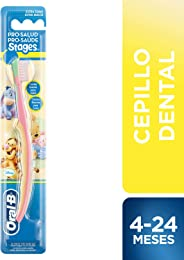 Oral B Stages Cepillo Dental Infantil con personajes de Winnie the Poh (edad: 4 a 24 meses) 1 pieza