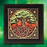 "The Celtic Tree of Life ""El Árbol De La Vida"" Art Tile Box"