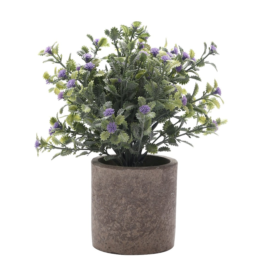 Artificial Plant Potted Mini Fake Plant Decorative Lifelike Flower Green Plants