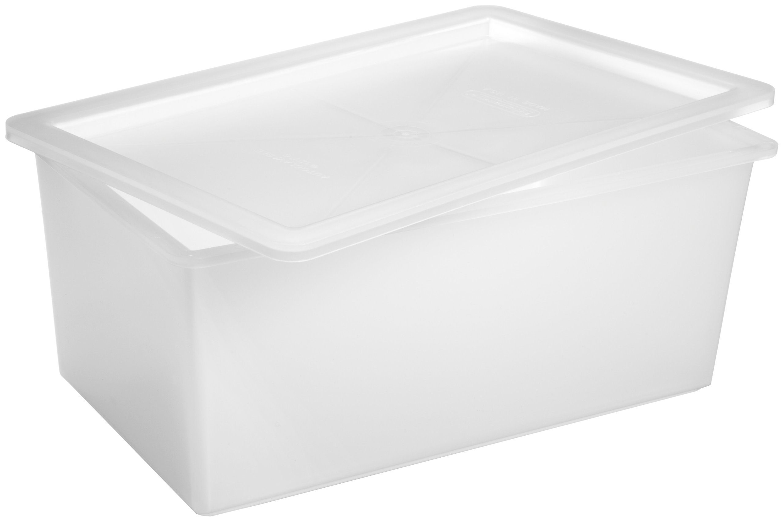 Bel-Art Polypropylene Instrument Tray with Cover; 11 x 6 x 5 in. (F16191-0000)