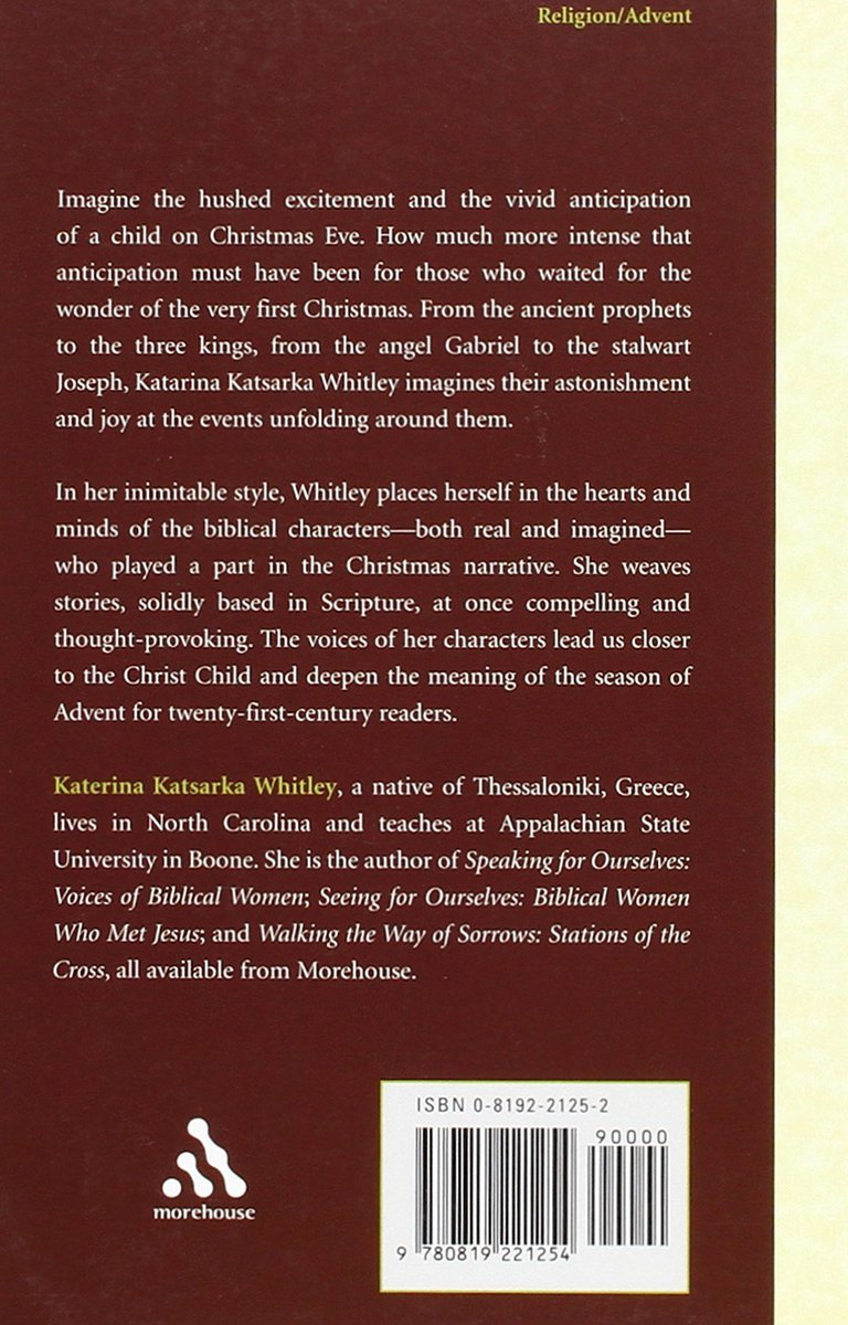 Waiting For The Wonder: Voices Of Advent: Katerina Katsarka Whitley:  9780819221254: Amazon: Books