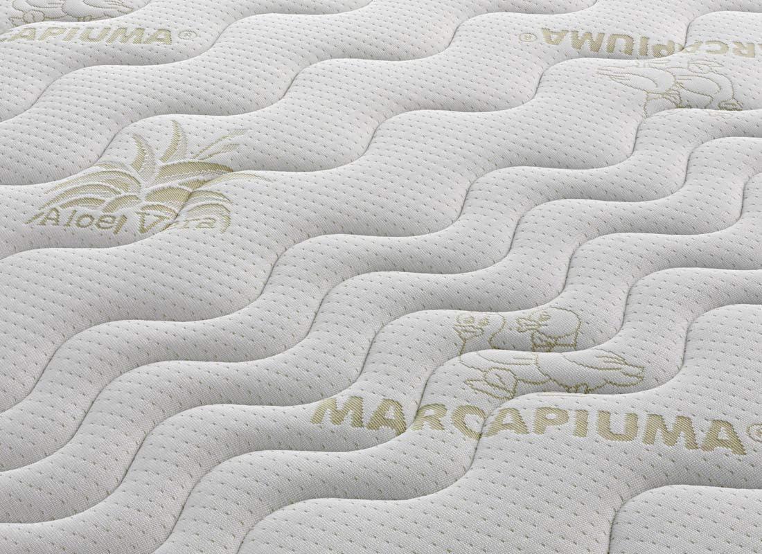 Marcapiuma - Colchón Látex Individual 75x190 Alto 18 cm - SEVENLIFE 18 - H2 Medio/Blando - 7 Zonas Ergonómico Antiácaros Antialérgico - Funda ...