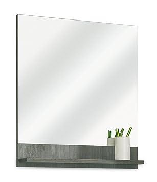 Badezimmerspiegel Badspiegel Wandspiegel ORSON 2 | Graphit Struktur ...