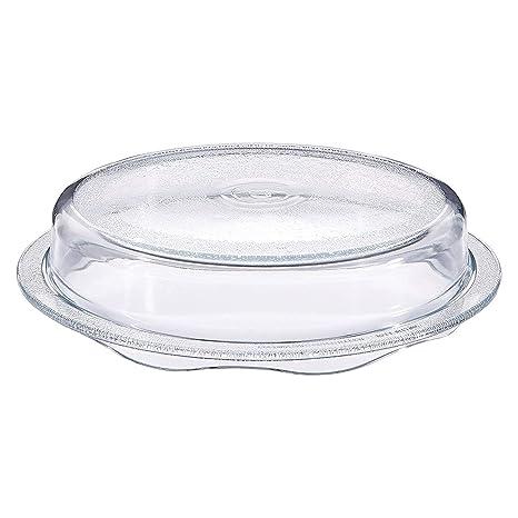 Amazon.com: Cuchina - Tapa de cristal para microondas con ...