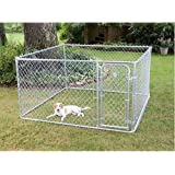 Amazon.com: Chain Link – Caseta de perro Lucky Dog Heavy ...