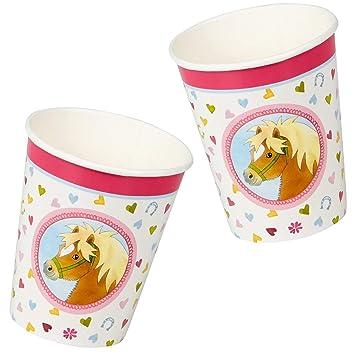 Nuevo: 8 Vasos de Fiesta de * Mein Pony Hofmeister * para ...