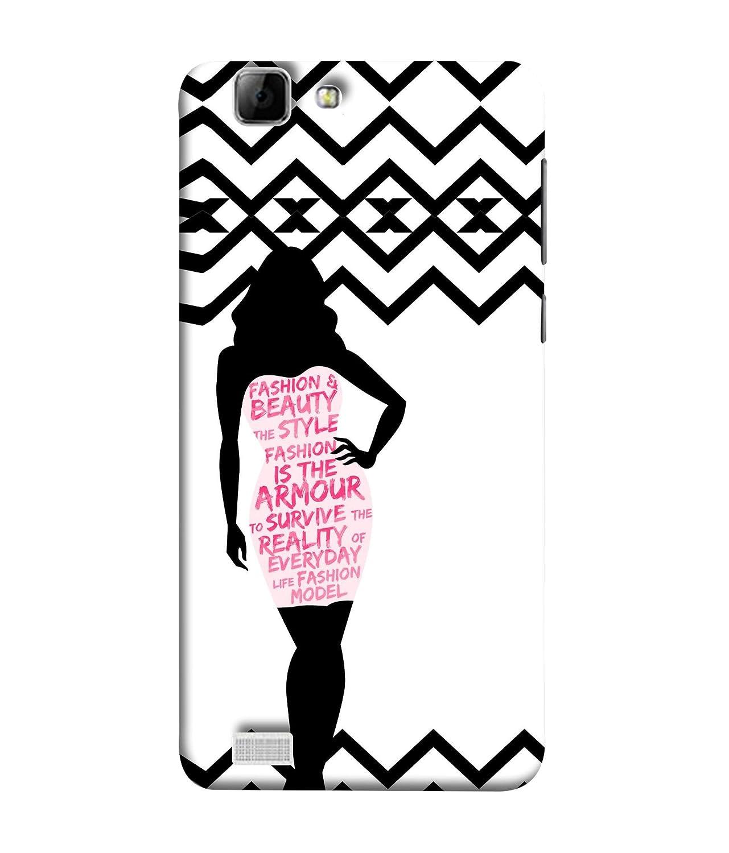 VIVo X3S Back Cover Nice Fashion Girls Design Wallpaper