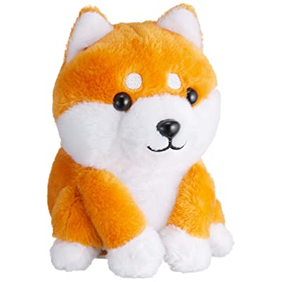 Ost Electric Talking Dog Cute Mame Shiba Toy Animal Voice Copy Repeat What You Say: Toys & Games