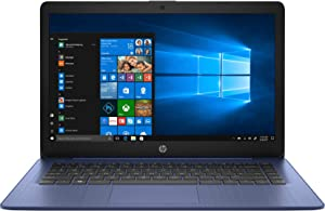 HP 14inch Stream Laptop, AMD A4-9120 Processor Up to 2.2 GHz, 4GB DDR4 RAM, 64GB SSD, AMD Radeon R3 Graphics, WiFi, Bluetooth, HDMI, Win10 Home (Renewed)